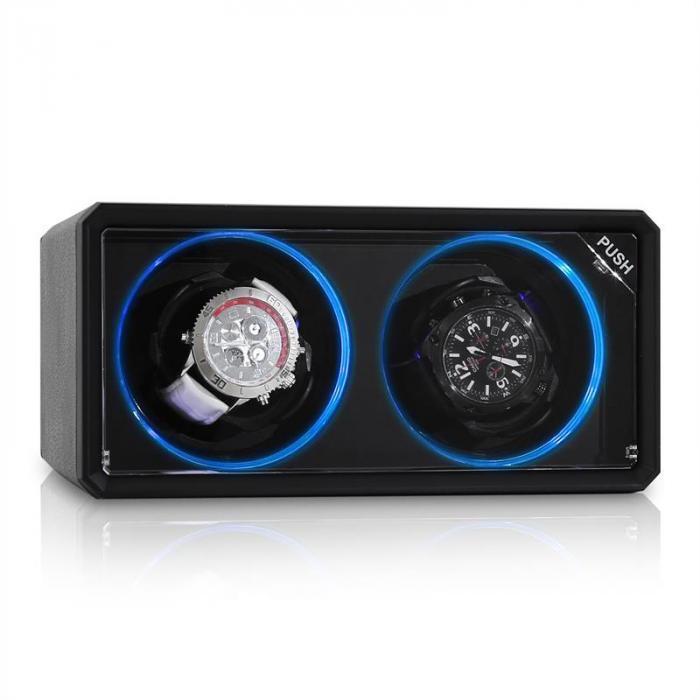 8LED2S Remontoir automatique 2 montres
