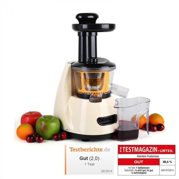 Fruitpresso Slow Juicer Centrifugeuse