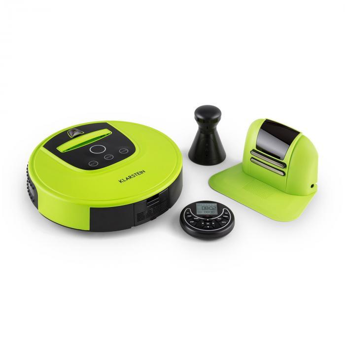 Cleanhero Robot aspirateur vert