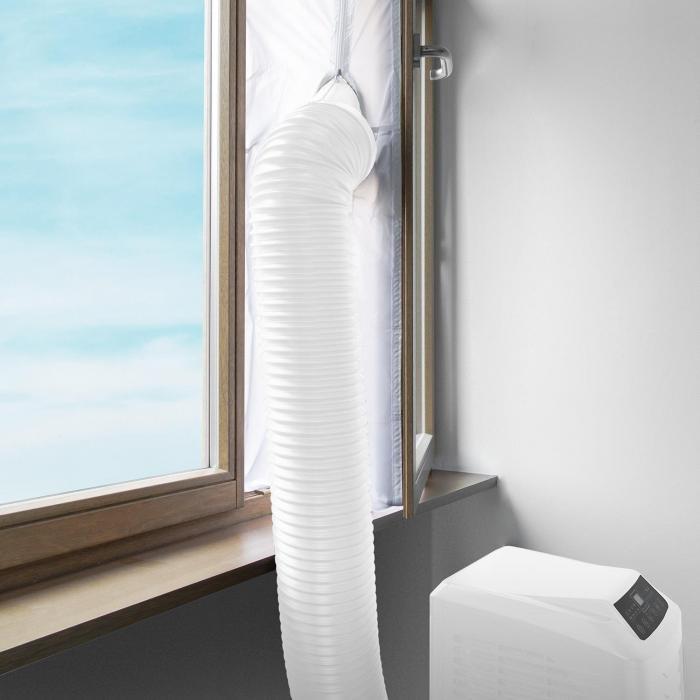 Calfeutrage fenêtre pour climatiseur mobile 4m
