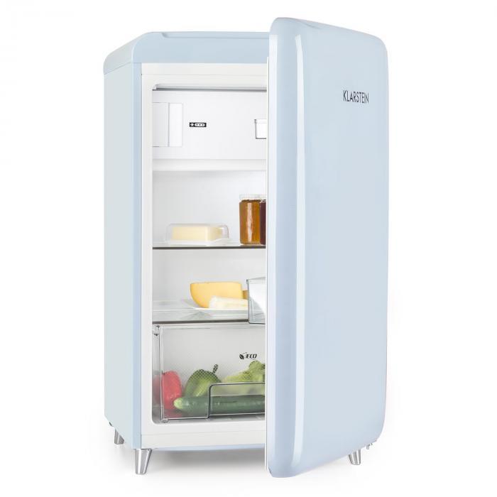 PopArt Blue réfrigérateur rétro