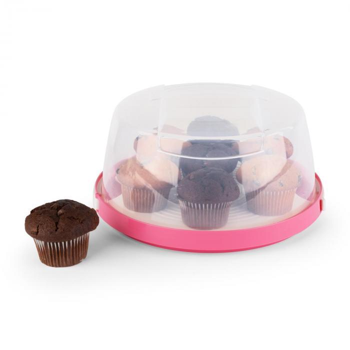 Petit chaperon rose porte cup cakes