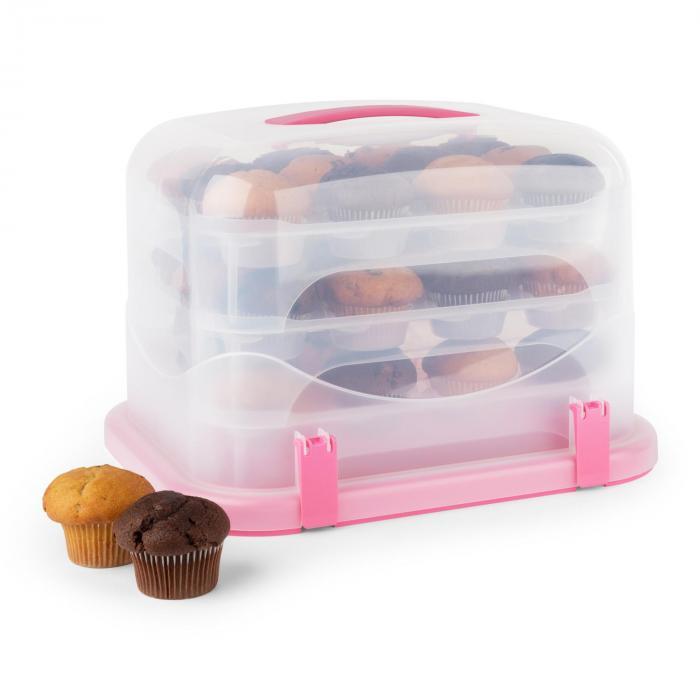Petit chaperon rose XL boîte à gâteau
