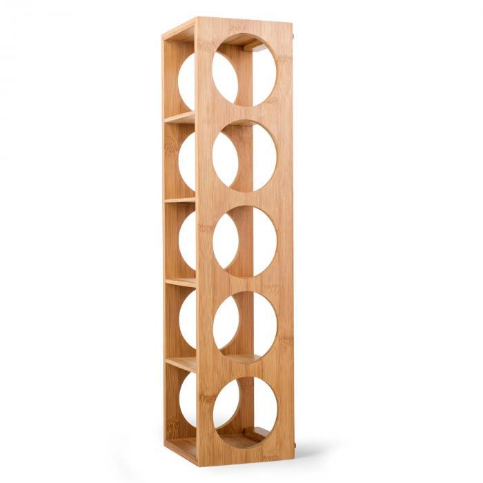 rack n 3 etag re vins en bambou empilable klarstein. Black Bedroom Furniture Sets. Home Design Ideas