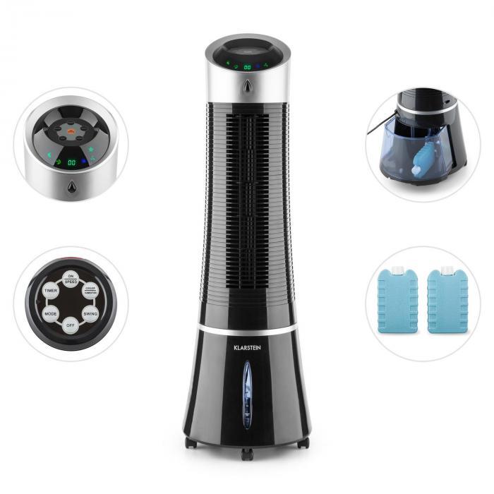 skyscraper ice climatiseur 4en1 ventilateur rafraichisseur. Black Bedroom Furniture Sets. Home Design Ideas