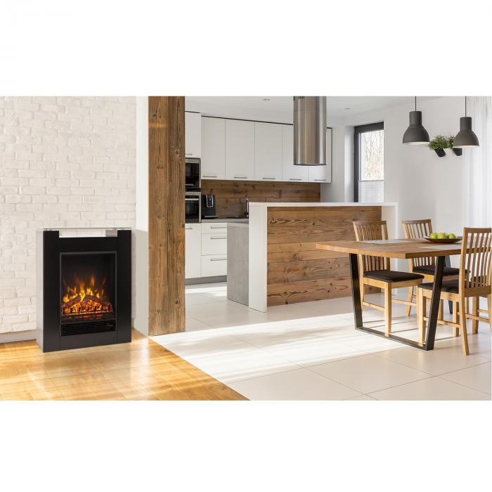 studio 5 chemin e lectrique radiateur soufflant 900w 1800w noir noir klarstein. Black Bedroom Furniture Sets. Home Design Ideas