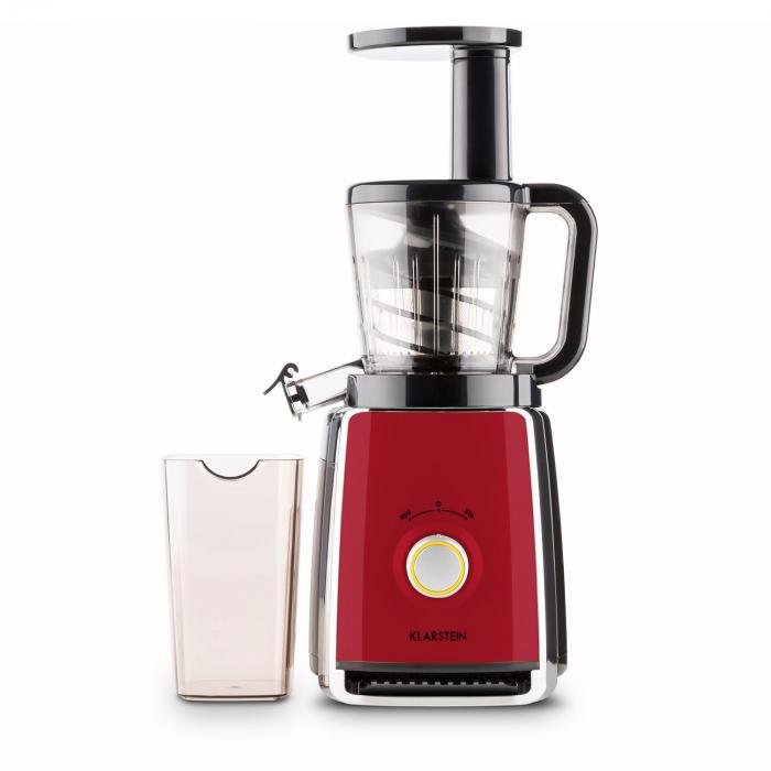 Difference Slow Juicer Et Centrifugeuse : Sweetheart Extracteur de jus Slow Juicer 150 W 32T/mn - rouge Rouge Klarstein
