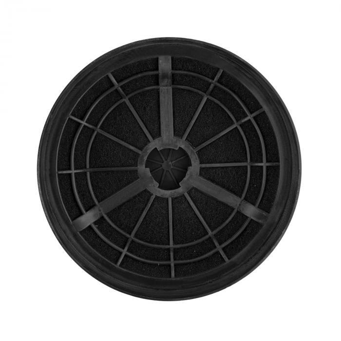 Lot de 2 filtres charbon actif pour hotte aspirante 17 5 cm klarstein - Charbon pour hotte aspirante ...