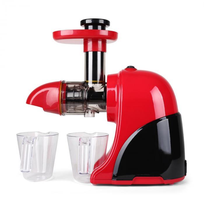 Fruitpresso Rosso Centrifugeuse Slow Juicer 150W -rouge Rouge Klarstein