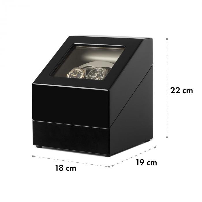 watchwinder coffret remontoir 2x montres automatiques. Black Bedroom Furniture Sets. Home Design Ideas