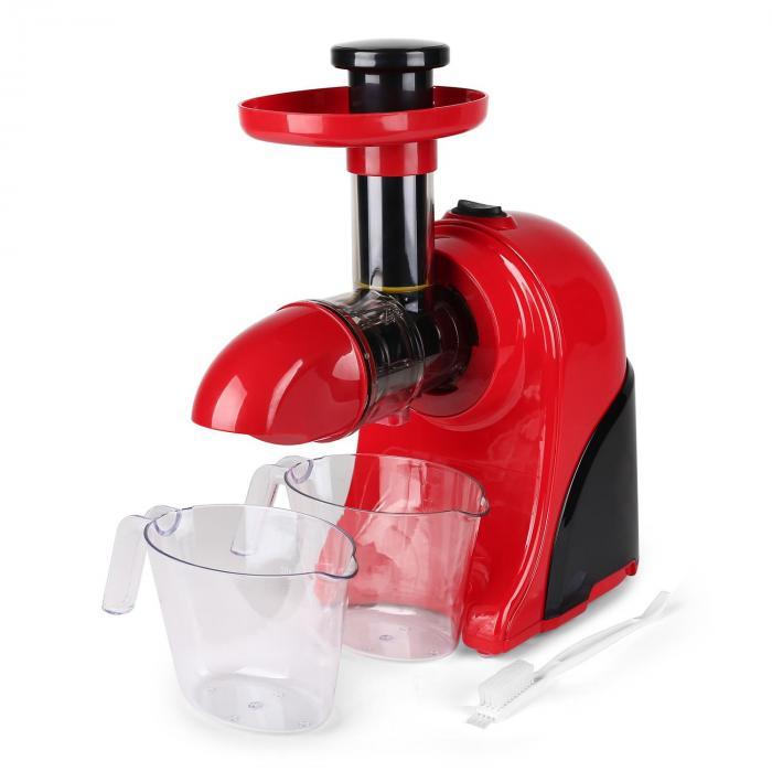 Klarstein Fruitpresso Slow Juicer : Fruitpresso Rosso Centrifugeuse Slow Juicer 150W -rouge Rouge Klarstein