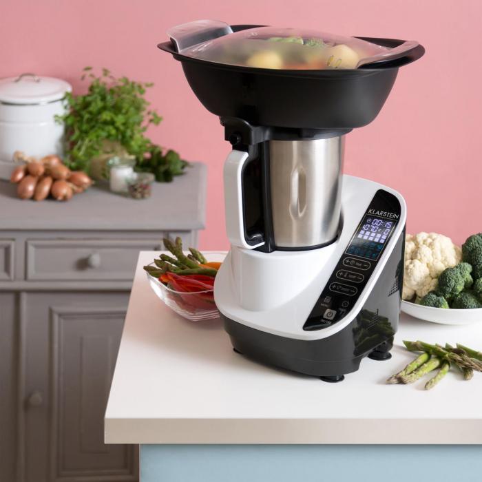 Food circus robot de cuisine cuiseur vapeur 10 programmes for Robot cuisine cuisson