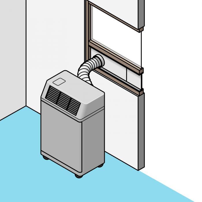 Kit d 39 tanch it pour climatiseurs fen tres coulissantes for Climatiseur installation fenetre