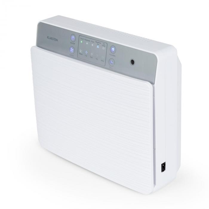 Dalmatien purificateur d 39 air ioniseur lampe uv blanc - Purificateur d air ioniseur ...